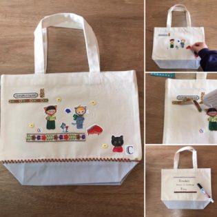 marini*monteanyの絵でバッグを作ろう!